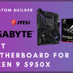 Best Motherboard for Ryzen 9 5950x – White Gaming Chipset 2021